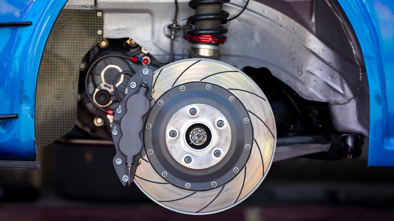 overheated brakes
